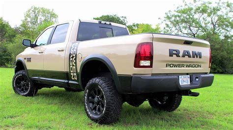 2018 Ram Power Wagon Now Available As Mojave Sand Limited