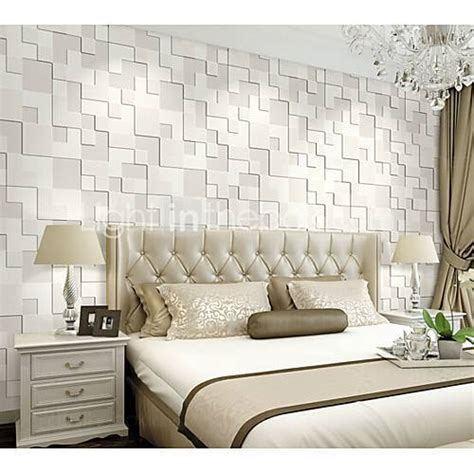 white vinyl bedroom  wallpaper rs  square feet ms