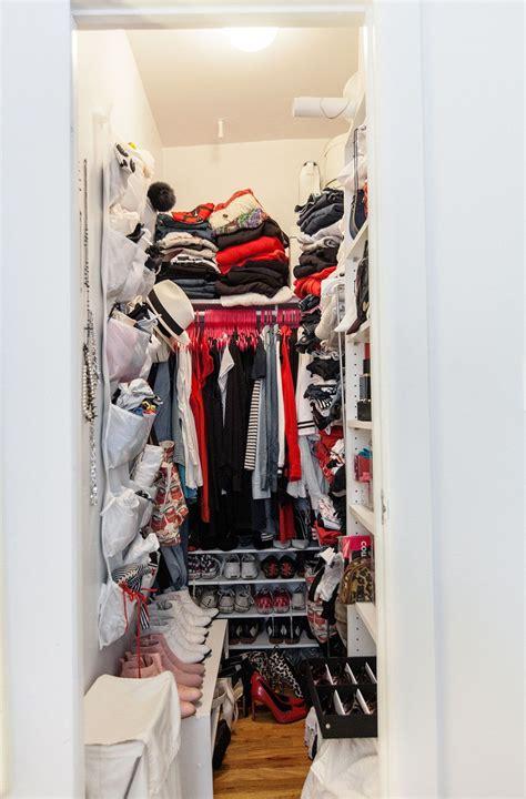 Diy Closet Organization Ideas On A Budget by Narrow Walk In Closet Organization Ideas Home Design Ideas