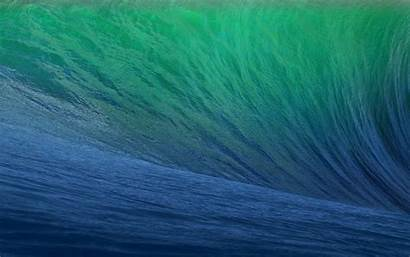 Mavericks Abstract Ocean Apple Mac Waves Sea