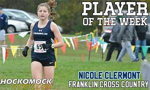 Franklin Matters: Nicole Clermont - Hockomock MVP for Girls Cross Country