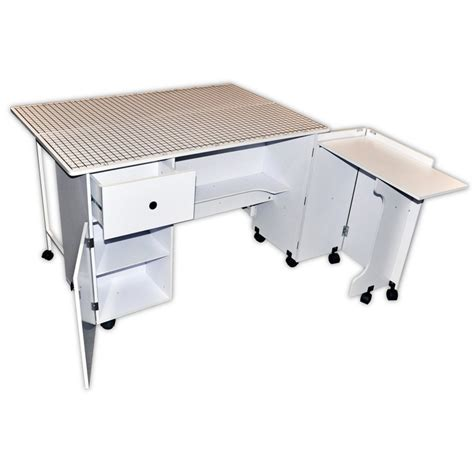 sewing machine tables for quilting sullivans quilters table craft tables and storage at