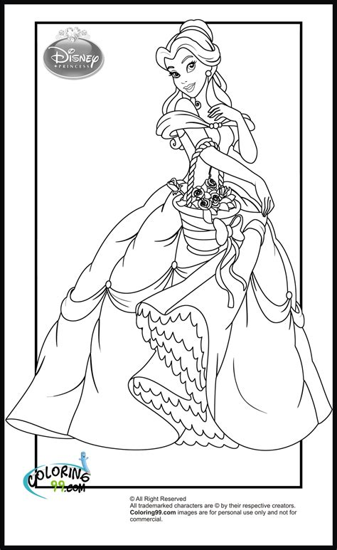disney princess coloring pages only coloring pages