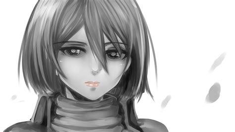 mikasa ackerman shingeki  kyojin anime anime girls