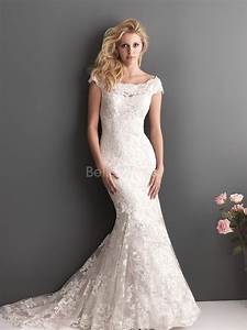 lace off the shoulder wedding gowns for elegant feminine With lace off the shoulder wedding dress