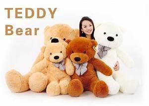 200 Cm Teddy : discount wholesale 200 cm three colors giant teddy bear skin coat soft adult coat plush toys ~ Frokenaadalensverden.com Haus und Dekorationen