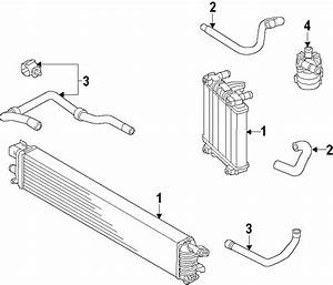 2013 Audi A6 Additional Radiator  Secondary Radiator  Second Radiator