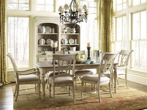 kincaid weatherford canterbury rectangular dining table