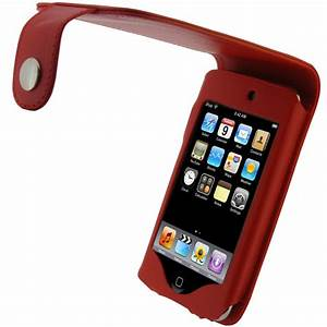 Red PU Leather Case for Apple iPod Touch 2nd 3rd Gen 2G 3G ...