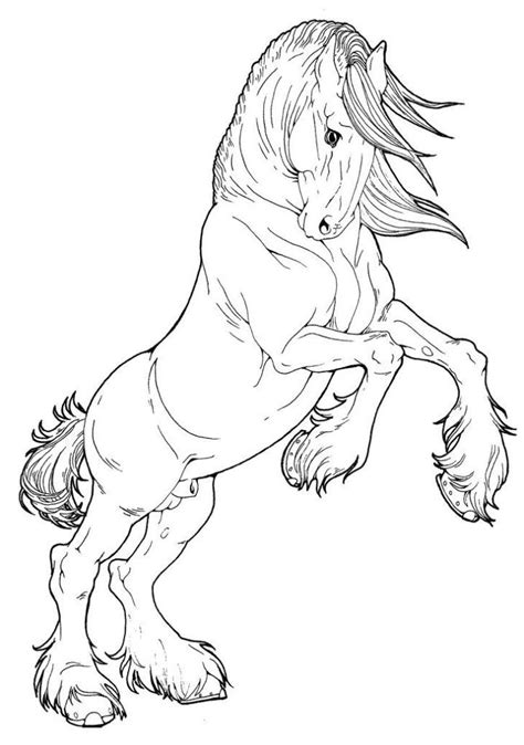 horse coloring pages horse coloring pages animal coloring pages horse drawings