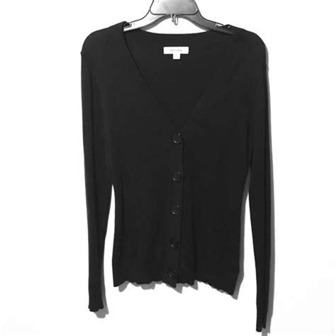 sweaters target merona merona by target black button cardigan sweater