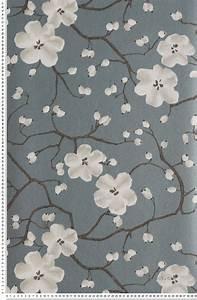 25 best ideas about papier peint motif on pinterest With kitchen cabinets lowes with papiers peints fleurs