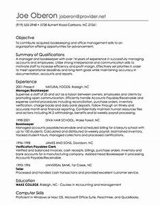 order of employment on resume With employment resume