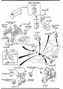Mazda Miata Relay  Fuel Pump  Opening  Circuit