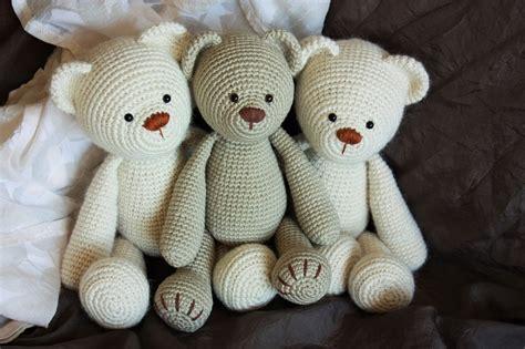 crochet teddy happyamigurumi may 2016