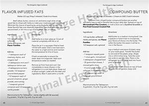 The Ketogenic Edge Cookbook  A Training Manual For Low