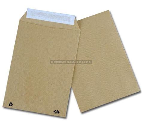 bureau 20 bastia 10 pochettes c5 162 x 229 mm kraft brun auto adhesives nf