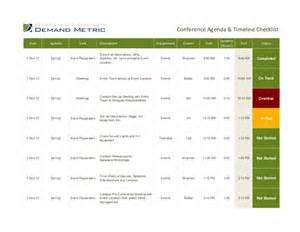 home design checklist conference agenda timeline checklist