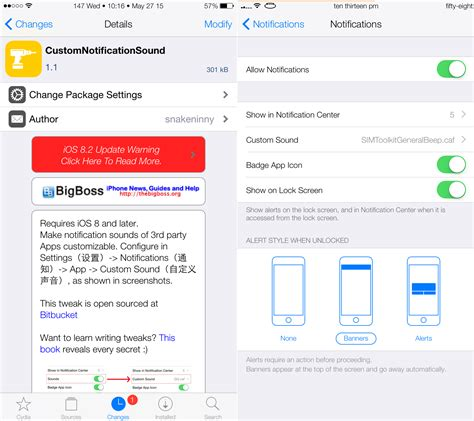 iphone notification sounds this tweak lets you customize your third