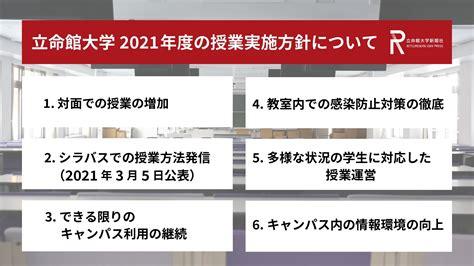 立命館 大学 合格 発表 2021