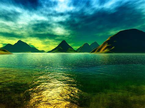 blue colorful blue green colors   sea nature