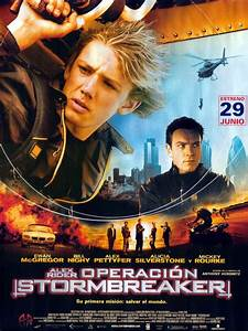 Spanish Alex Rider: Operation Stormbreaker film poster ...
