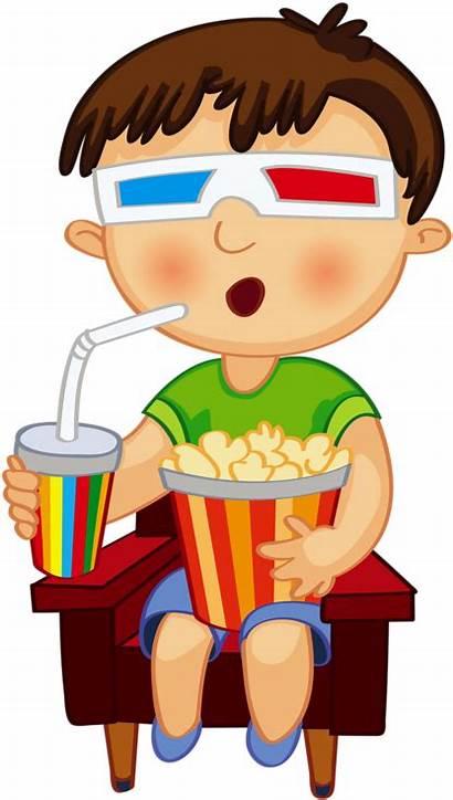 Clipart Transparent Chore Boy Clip Watching Kid