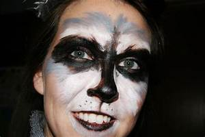 Raccoon face paint | Fundraiser Ideas | Pinterest