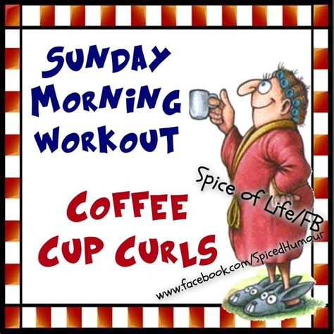Here's what a registered dietitian has to say. Sunday Morning Workout, Coffee Cup Curls Pictures, Photos ...