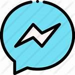 Icons Messenger Icon Neon App Freepik Designed