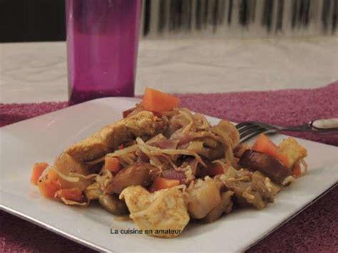 recette soja cuisine recettes de poulet et carottes