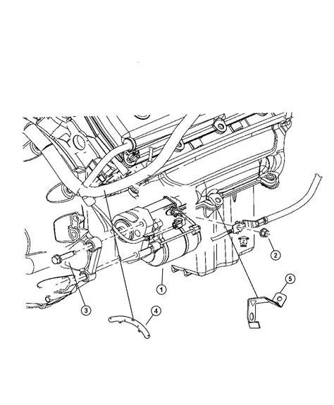 2007 Dodge Charger Engine Diagram by 05030076ac Chrysler Starter Engine Ezcezd Factory
