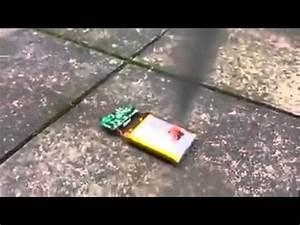 mobile battery blast - YouTube