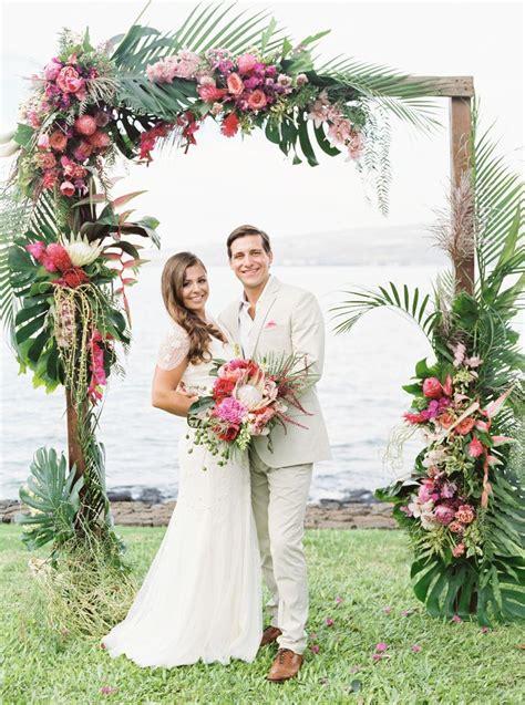 A Casual Beach Wedding In Puako Hawaii Hawaii Wedding