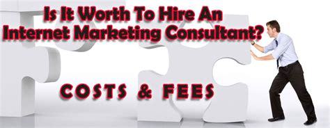 Marketing Seo Consultant - worth to hire an marketing consultant fees and costs