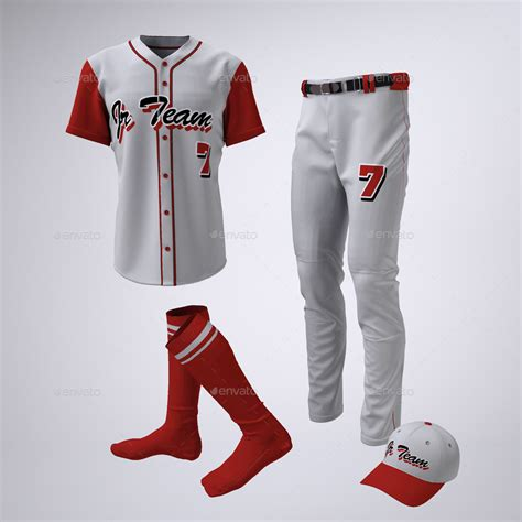 baseball team jerseys  uniform mock   sanchi