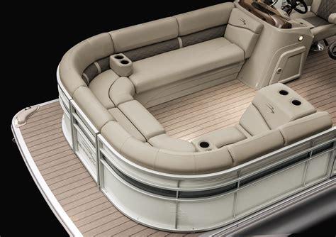 Pontoon Boat Seat Configurations by 2017 24sx Lounge Pontoon Boats By Bennington