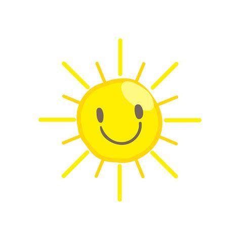 Cute smile sun vector 465434 Vector Art at Vecteezy
