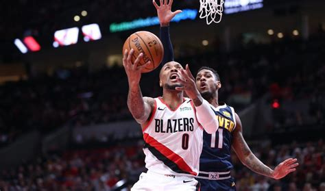 Trail Blazers Hang On Over Nuggets. - Direct Sports News