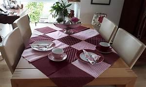 Tischdecke Selber Nähen : tischlein deck dich patchwork tischdecke selber n hen giljo stoffe ~ A.2002-acura-tl-radio.info Haus und Dekorationen