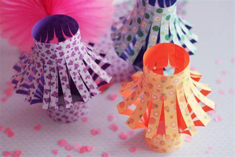 diy lanternes kawai en papier origami poulette magique