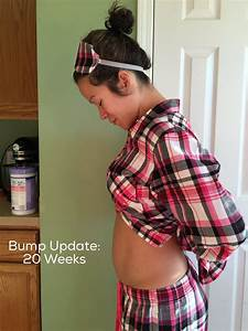 Diary Of A Fit Mommypregnancy  20 Weeks Bump Update