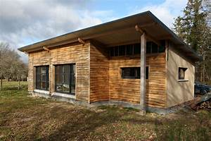 Maison écologique En Kit : maison ecologique bois maison parallele ~ Dode.kayakingforconservation.com Idées de Décoration