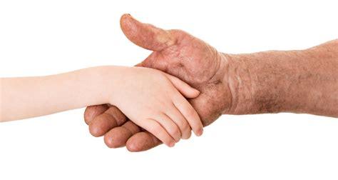 reverse aging hands