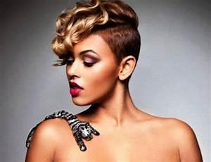 Raie Sur Le Coté Homme : coupe de cheveux ras sur le cot femme idee coiffure en photos ~ Melissatoandfro.com Idées de Décoration