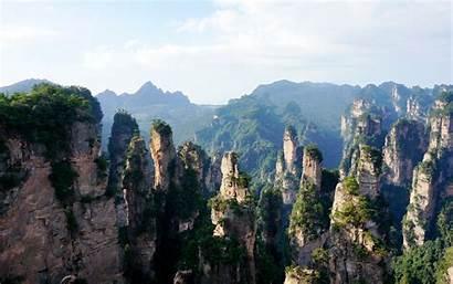 China Zhangjiajie Forest National Park Wallpapers Chinese