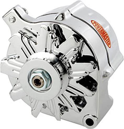 Ford Mustang Powermaster Chrome Amp Alternator