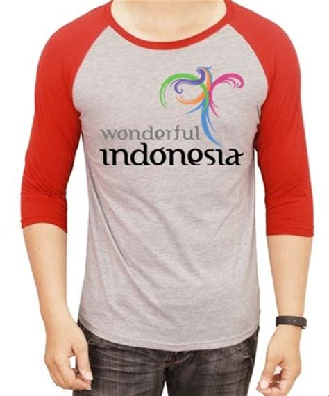 Kaos Natgeo Wonderful Indonesia jual kaos raglan wonderful indonesia 2 ukuran xl 4xl di