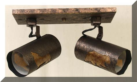 rustic track lighting collection rustic lighting fans