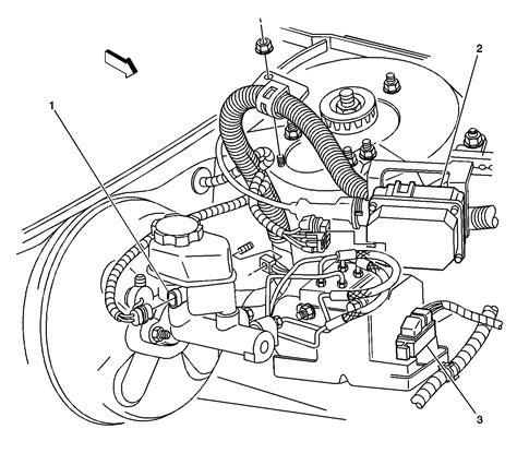 2002 buick rendezvous brake line routing diagram fixya